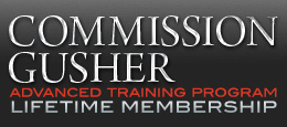 Commission Gusher Advanced Training Program
