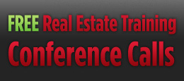 Free Real Estate Training Conference Calls